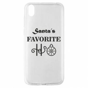 Etui na Huawei Y5 2019 Santa's favorite HO