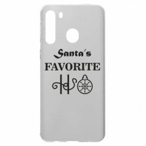 Etui na Samsung A21 Santa's favorite HO
