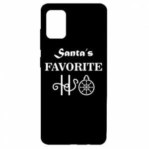 Etui na Samsung A51 Santa's favorite HO