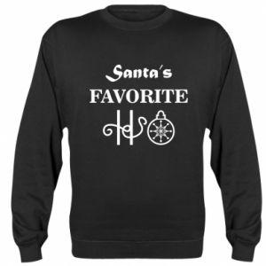 Bluza (raglan) Santa's favorite HO