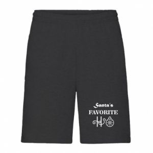 Men's shorts Santa's favorite HO