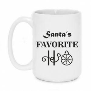 Kubek 450ml Santa's favorite HO