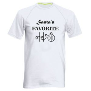 Koszulka sportowa męska Santa's favorite HO