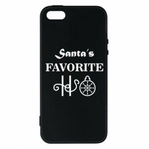 Etui na iPhone 5/5S/SE Santa's favorite HO