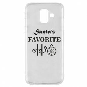 Etui na Samsung A6 2018 Santa's favorite HO