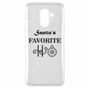 Etui na Samsung A6+ 2018 Santa's favorite HO