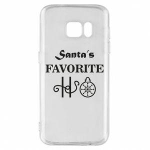 Etui na Samsung S7 Santa's favorite HO