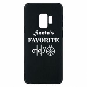 Etui na Samsung S9 Santa's favorite HO