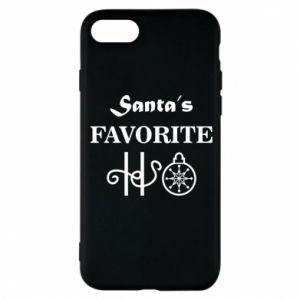 Phone case for iPhone 8 Santa's favorite HO