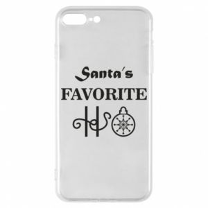 Phone case for iPhone 8 Plus Santa's favorite HO
