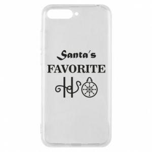 Etui na Huawei Y6 2018 Santa's favorite HO
