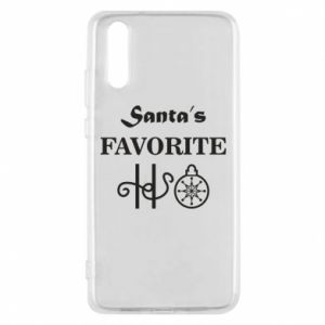 Phone case for Huawei P20 Santa's favorite HO