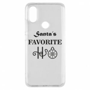 Phone case for Xiaomi Mi A2 Santa's favorite HO