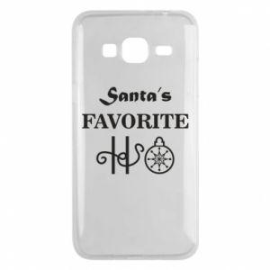 Phone case for Samsung J3 2016 Santa's favorite HO