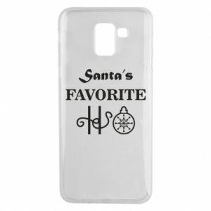 Etui na Samsung J6 Santa's favorite HO
