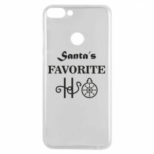 Phone case for Huawei P Smart Santa's favorite HO