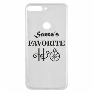 Phone case for Huawei Y7 Prime 2018 Santa's favorite HO