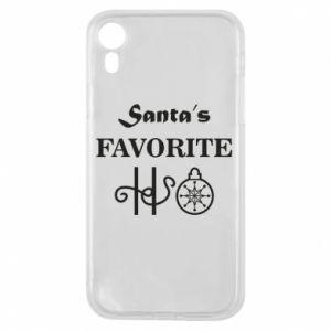Etui na iPhone XR Santa's favorite HO