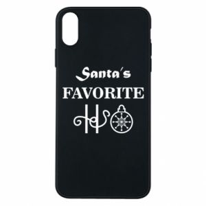 Phone case for iPhone Xs Max Santa's favorite HO
