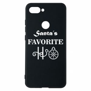 Phone case for Xiaomi Mi8 Lite Santa's favorite HO