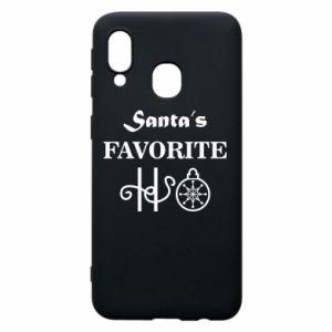 Phone case for Samsung A40 Santa's favorite HO