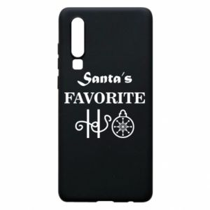 Phone case for Huawei P30 Santa's favorite HO