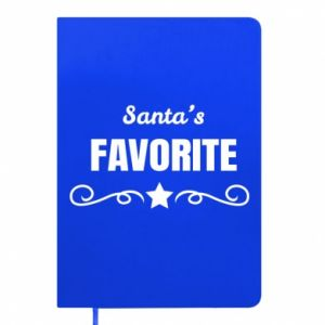 Notepad Santa's favorite