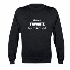 Kid's sweatshirt Santa's favorite