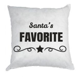 Pillow Santa's favorite