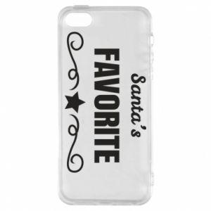 iPhone 5/5S/SE Case Santa's favorite