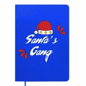 Notepad Santa's gang