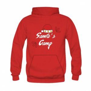 Bluza z kapturem dziecięca Santa's gang
