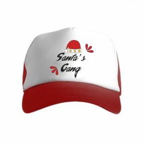 Czapka trucker dziecięca Santa's gang