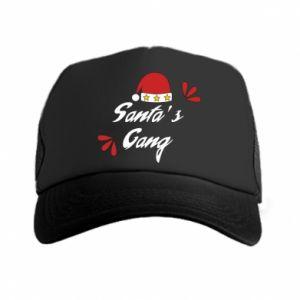 Trucker hat Santa's gang