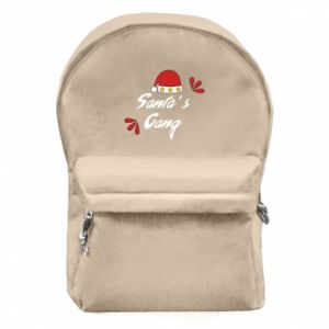 Backpack with front pocket Santa's gang