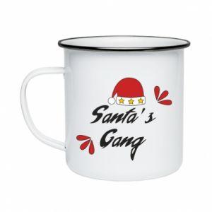 Enameled mug Santa's gang