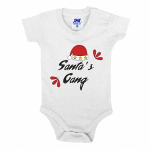 Baby bodysuit Santa's gang