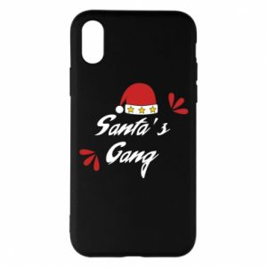 Etui na iPhone X/Xs Santa's gang