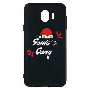 Samsung J4 Case Santa's gang