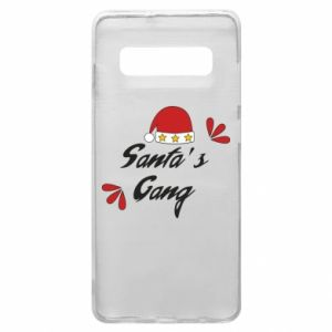 Samsung S10+ Case Santa's gang