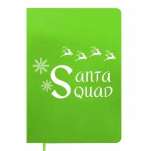 Notepad Santa squad