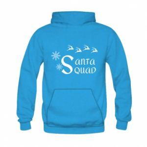Bluza z kapturem dziecięca Santa squad