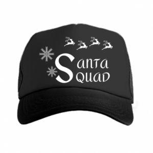 Czapka trucker Santa squad