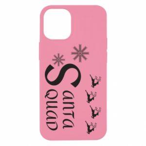 Etui na iPhone 12 Mini Santa squad