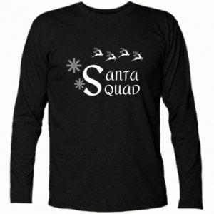 Koszulka z długim rękawem Santa squad