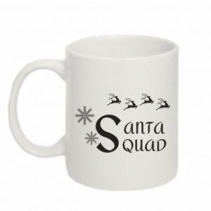 Kubek 330ml Santa squad