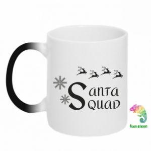 Kubek-kameleon Santa squad