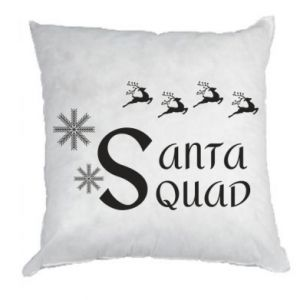 Pillow Santa squad
