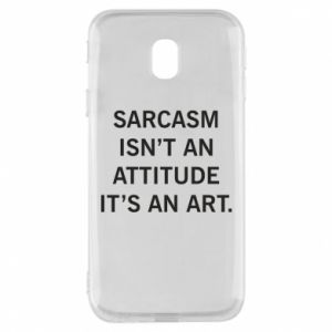 Etui na Samsung J3 2017 Sarcasm isn't an attitude it's an art