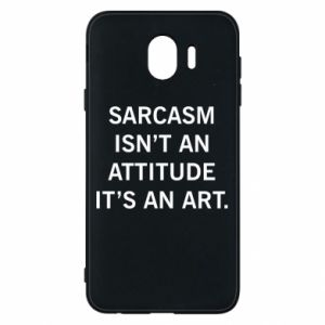 Etui na Samsung J4 Sarcasm isn't an attitude it's an art